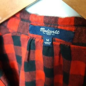 Madewell | Buffalo Plaid Shirt Dress